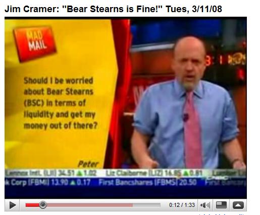 Jim Cramer Bear Stearns
