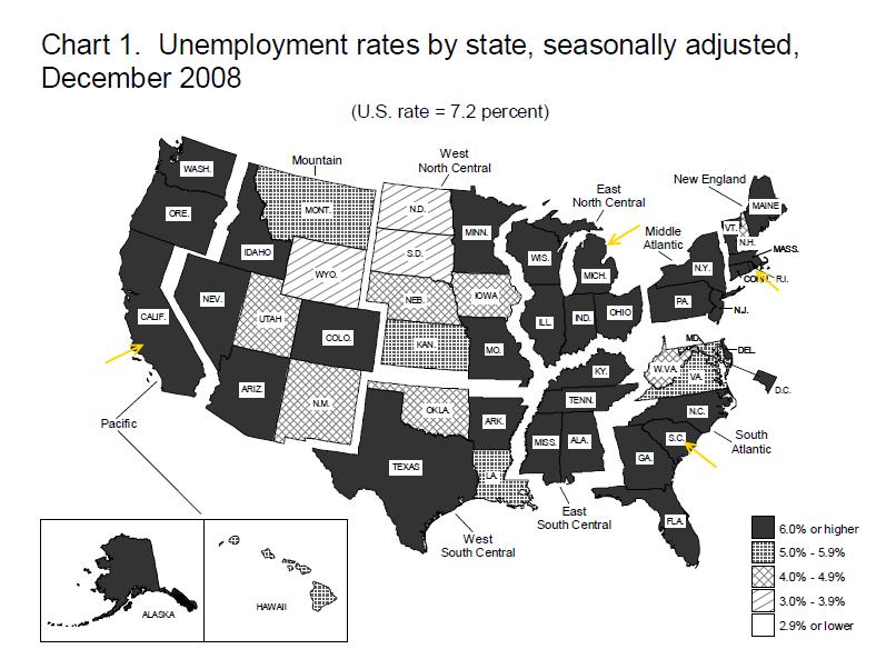 nation unemployment rates