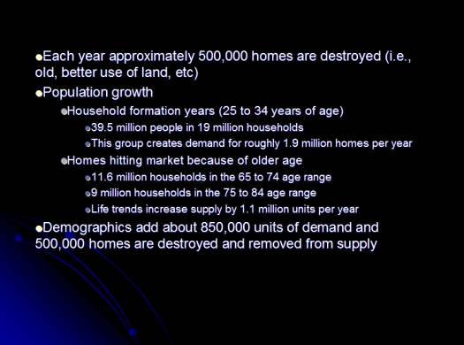 home demographic trends