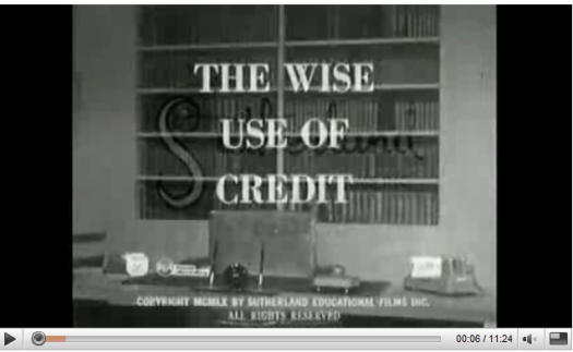 the wise use of credit