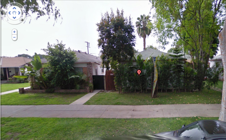 culver city duplex street view