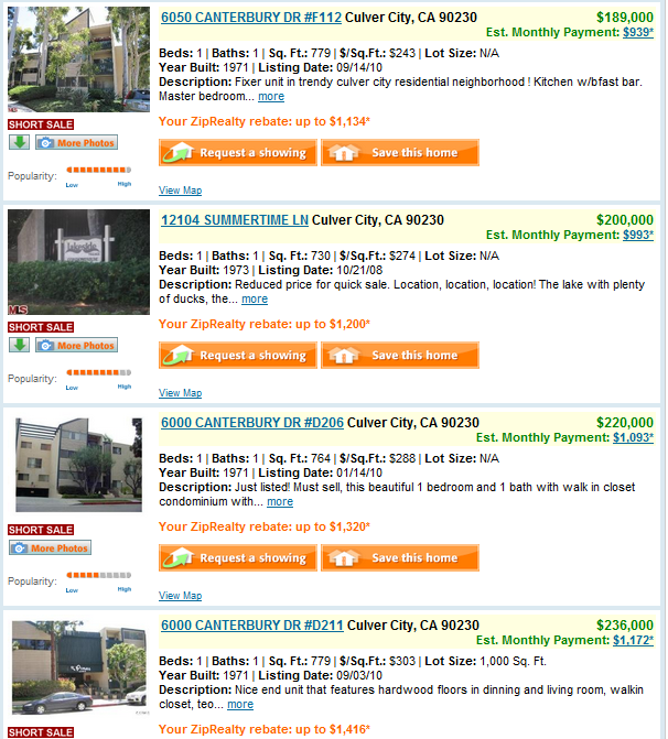 Los Angeles Condos For Sale Culver City
