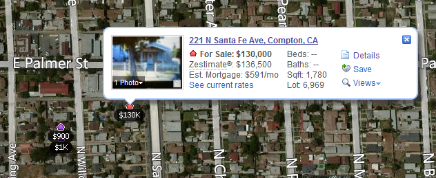 compton home sales