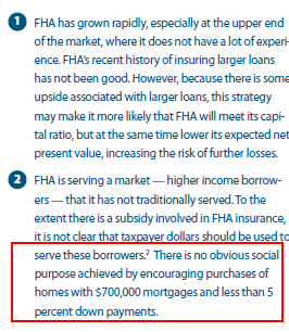 fha and high priced homes