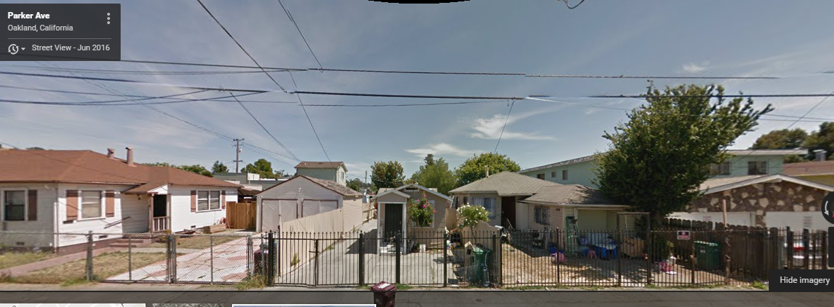 oakland streetview