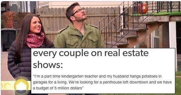 realestate couple on tv shows