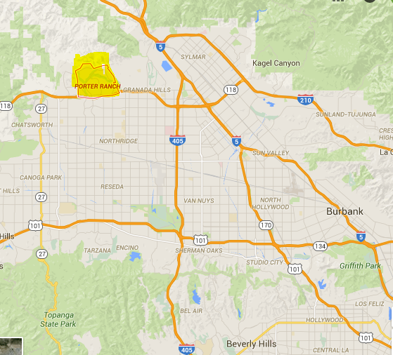 Porter Ranch California Map porter ranch map » Dr. Housing Bubble Blog